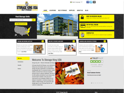 Storage King USA Custom Website Visit Site