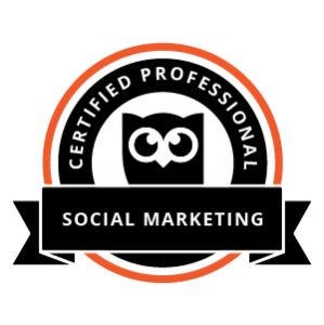 Certified Professionals - Social Marketing